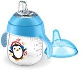 Philips Avent SCF747/02 Drinkbeker met drinktuit - Blauw Pinguin 260 ml
