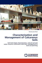 Characterization and Management of Calcareous Soils