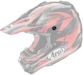 Arai MX-V Helmklep Schroeven-Transparant