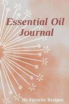 Essential Oil Recipe Journal - Special Blends & Favorite Recipes - 6'' x 9'' 100 pages Blank Notebook Organizer Book 15