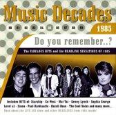 Music Decades 1985