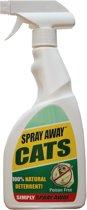 Katten-spray Spray-Away - 100% natuurlijk