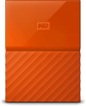 WD My Passport Portable 2TB - Oranje