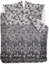 Ariadne at Home Lexie - Flanel - Dekbedovertrek - Lits-jumeaux - 240x200/220 cm + 2 kussenslopen 60x70 cm - Grey
