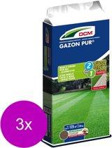 Dcm Gazon Pur 125 m2 - Gazonmeststoffen - 3 x 10 kg (Mg)