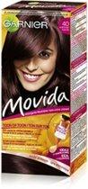 Garnier Movida Haarverf- 40 Auburn - Kleurcrème Toon-op-Toon - Zonder Ammoniak - Met Voedende Abrikozenmelk