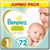 Pampers New Baby - Maat 1 (New Born) 2-5 kg - 72 Stuks - Luiers