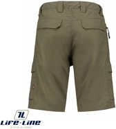 Life-Line Dibo Active Nylon Shorts army green