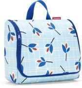 Reisenthel Toiletbag XL Ophangbare Toilettas 6L - Leaves Blue