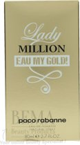 Paco Rabanne Lady Million Eau My Gold 80 ml - Eau de toilette - for Women
