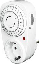 EcoSavers Countdown Timer 22H Tijdschakelklok Countdown (aftel) functie analoog max. 22 uur - Nederlands stopcontact - niet geschikt voor Belgie