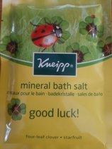 Kneipp badkristallen badzout geur Fruit - fruitig