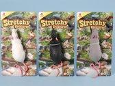 Speelgoed rat 28 cm  grijs