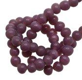 Glaskralen (4 mm) Violet (100 Stuks)