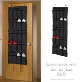 deur manden voor schoenen grijs