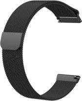 KELERINO. Milanees bandje - Fitbit Versa - Zwart