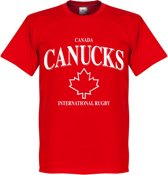 Canada Rugby T-Shirt - Rood - S
