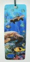 Boekenlegger zeeschildpad