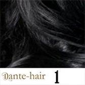 "Dante-clips 16""/42cm kleur 1 zwart"