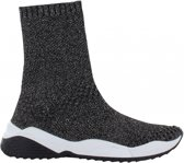 Tango | Isabel 1-c silver sock upper - black/white sole | Maat: 40