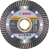 Bosch - Diamantdoorslijpschijf Best for Universal Turbo 115 x 22,23 x 2,2 x 12 mm