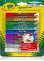 Crayola Glitterlijmtubes - 9 Stuks