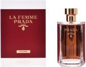 MULTI BUNDEL 2 stuks LA FEMME PRADA INTENSE Eau de Perfume Spray 100 ml