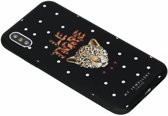 My Jewellery Design Backcover iPhone X / Xs hoesje - Le Tigre