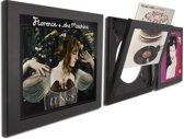 LP / vinyl wissellijst frame - fotolijst (zwart) (4 pack)