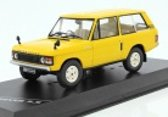 Land Rover Range Rover 3.5 RHD 1970 Geel 1:43 WhiteBox Limited 1000 Pieces