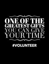 One of the Greatest Gifts You Can Give Your Time #Volunteer: Volunteering Planner for 2020