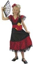 Spaans Meisje - Kostuum - 7-9 Jaar