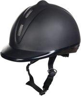 Cap, glad kunststof zwart M=53-57cm