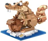 Ice Age eekhoorn, LOZ, Diamond Blocks