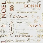Cadeaupapier Kerst - print 8 - 30cm - 200m - 80gr | Winkelrol / Apparaatrol / Toonbankrol / Geschenkpapier / Kadopapier / Inpakpapier