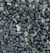 Beach Pebbles zwart 5-8 mm grind per bigbag (1800 kg)