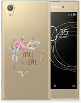 Sony Xperia XA1 Plus Uniek TPU Hoesje Boho Text