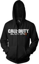 Merchandising CALL OF DUTY Black Ops 2 - Sweatshirt - Black Logo Zipper Hoodie (S)