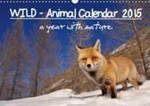 Wild - Animal Calendar 2015 / UK Version