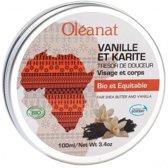 Oléanat Sheabutter balsem vanille Fair Trade 100 ml