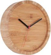 Wall clock Tom bamboo