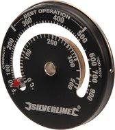 Silverline Magnetische ovenhermometer - 0-500 °C / 32 - 932 °F