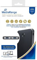 MediaRange Powerbank 10.000mAh with USB-Cand fast charge