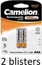 Camelion oplaadbare batterij AAA 1100mah - 8 stuks