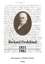 Richard Dedekind 1831-1981