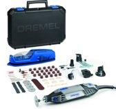 Dremel 4200 Multitool Roterend 175 Watt Inclusief 4 hulpstukken 75 accessoires en premium opbergkoffer met machinehouder