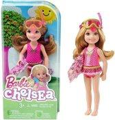 Barbie Chelsea in badpak met snorkel