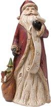 Kerstman 15*12*30 cm Wit/rood | 6PR1115 | Clayre & Eef