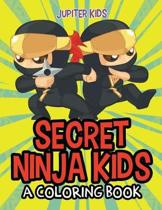 Secret Ninja Kids (a Coloring Book)