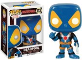 Funko Pop! Deadpool Thumbs Up X-Men Costume - Verzamelfiguur